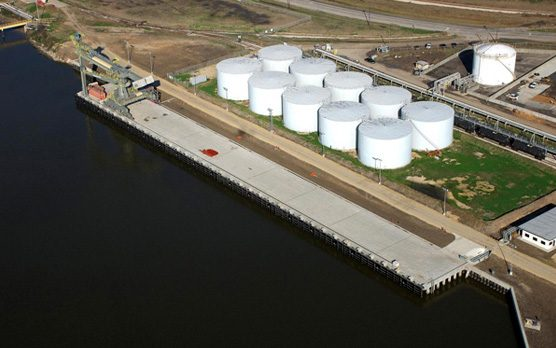 Petroleum Coke and Limestone Terminal