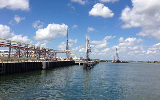 New Ship Dock Liquid Terminal